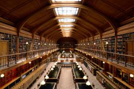 Bibliothèque de l`Hotel de Ville