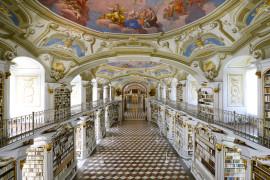 Admont Benedictine Monastery Library