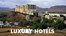 Luxury Hotels of Rajasthan Portfolio PDF Image