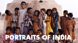 Portraits of India Portfolio PDF Image