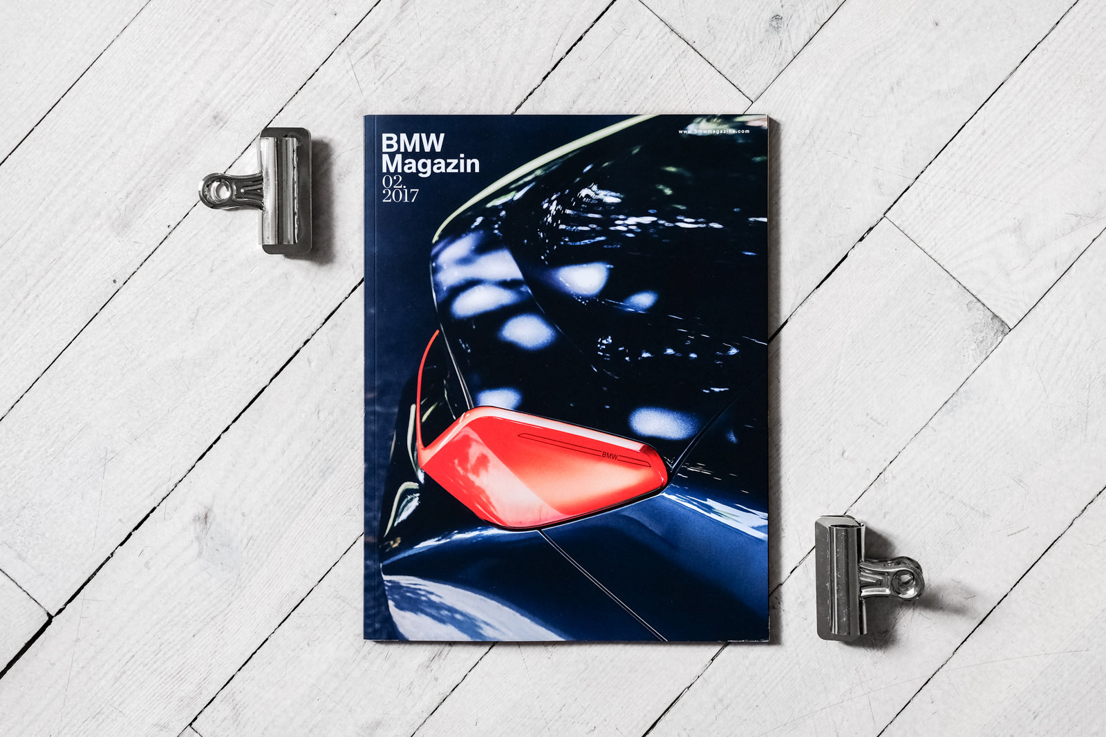 Image BMW Magazine Cover Car