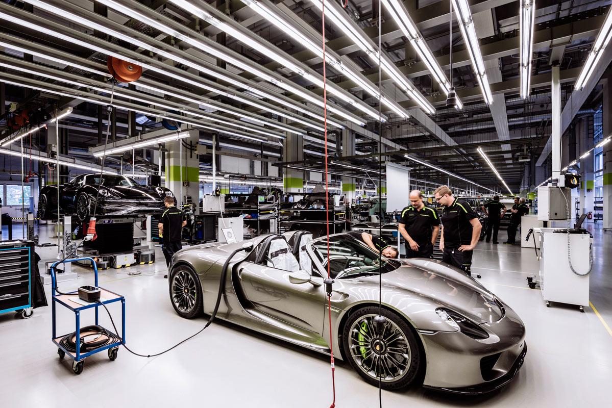 Ignment Porsche 918 Spyder Production Location Stuttgart Germany Client G J Publishing House Magazine Manual Postproduction Bam Studio