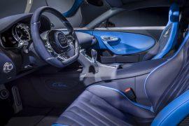 Image Interior Bugatti Chiron in